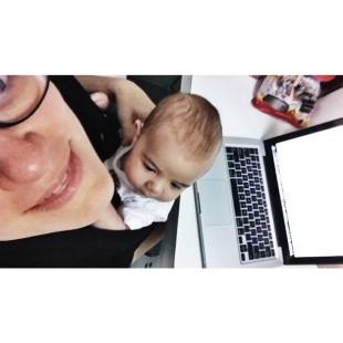 Tomás making the living desde bebê
